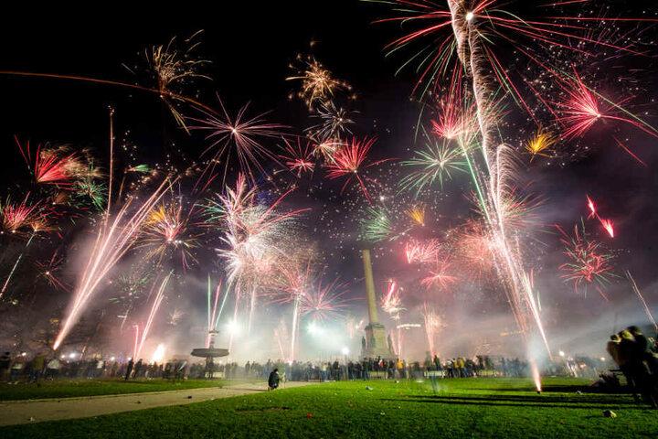 Feuerwerk soll es bald in Stuttgart nicht mehr geben.
