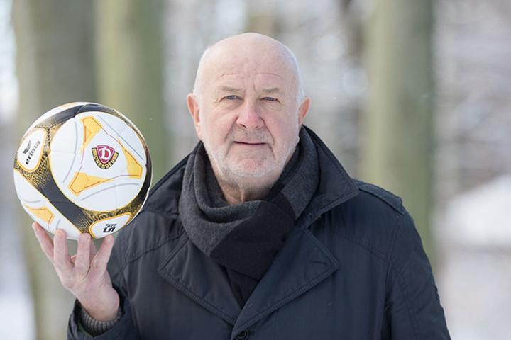 Dynamo-Stürmer Hansi Kreische holte 1972 mit der DDR-Auswahl Bronze.