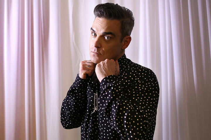 Robbie Williams hat ein Weihnachtsalbum aufgenommen.