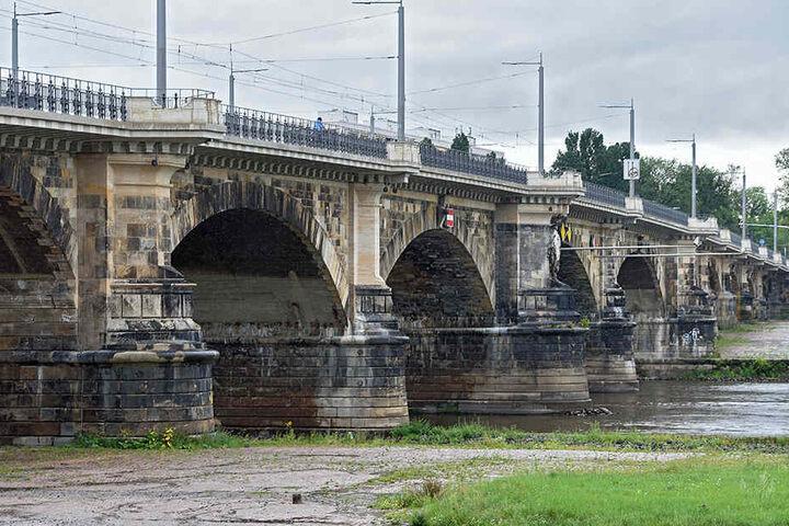 Zwischen 2014 und 2016 wurde die Albertbrücke aufwändig saniert.