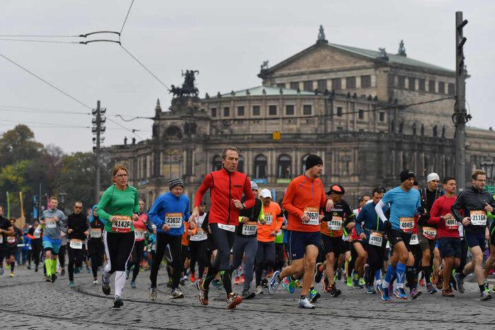 Bester Deutscher beim Marathon in Dresden war Ralf Kummer aus Zwickau.