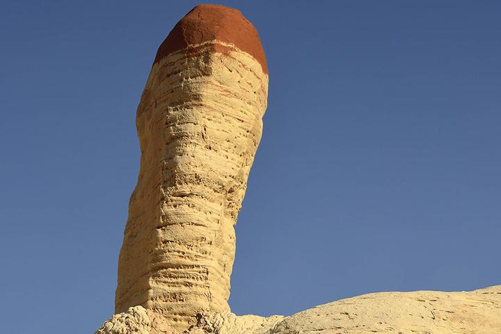 Auch in Arizona hat die Natur ihre Penis-Spuren hinterlassen.
