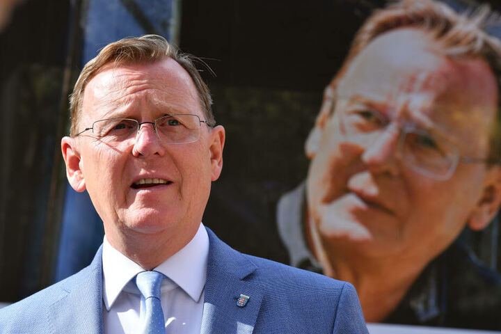 Bodo Ramelow wurde auch im Wahlkampf bedroht.