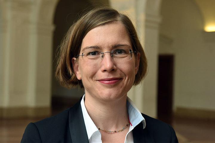 Leipzigs Kultur-Bürgermeisterin Dr. Skadi Jennicke (40).