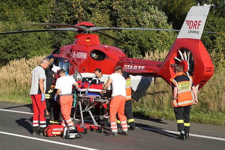 Fünf Personen wurden bei den Unfällen verletzt, zwei von ihnen schwer.