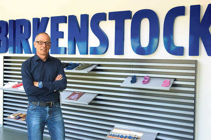 Hilmar Knoll ist der Chef der Birkenstock-Tochter Alsa in Görlitz  - mittlerweile größter Standort von Birkenstock weltweit.