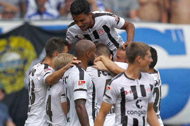 St. Pauli feierte am Sonntag einen Sieg gegen Aufsteiger Magdeburg.