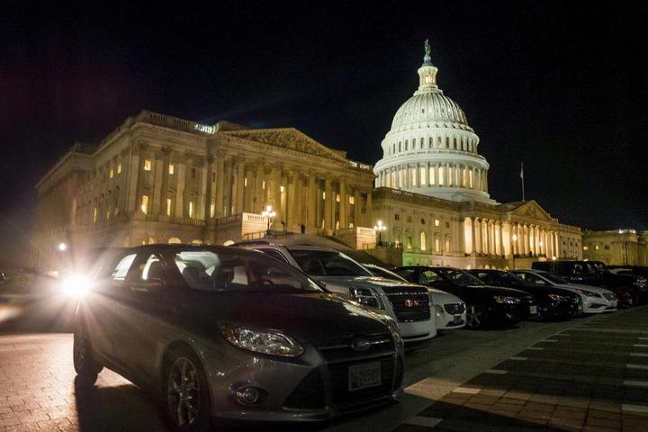Im Kapitol befindet sich der US-Kongress.