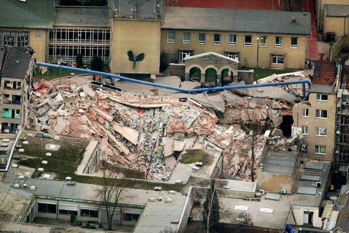 Am 3. März 2009 war das Kölner Stadtarchiv eingestürzt. Dabei waren zwei Menschen ums Leben gekommen.