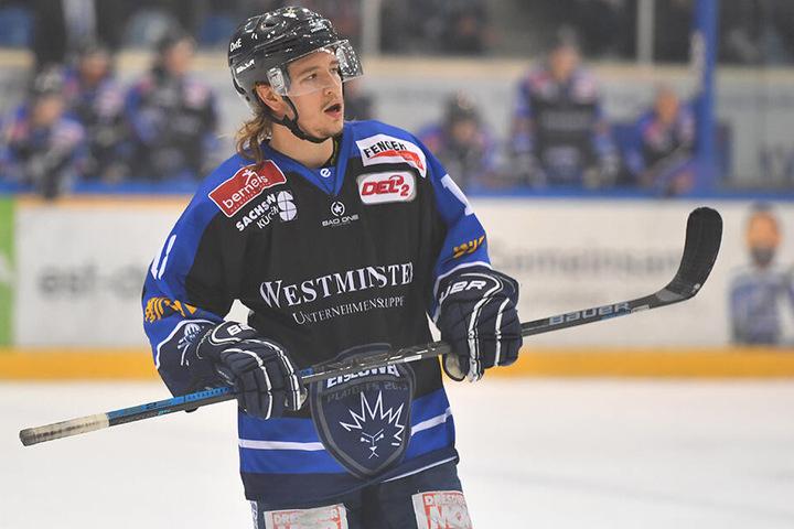 Enttäuscht verließ Timo Walther nach der Niederlage das Eis.