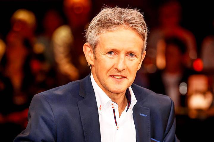"""Jens Weißflog (54) war am Freitagabend zu Gast im """"Riverboat""""."""