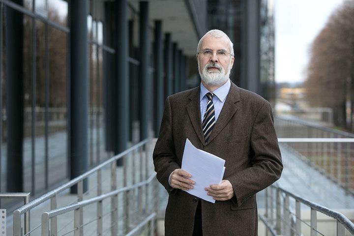 Ultimatum an die Stadt: Datenschützer Andreas Schurig (60).