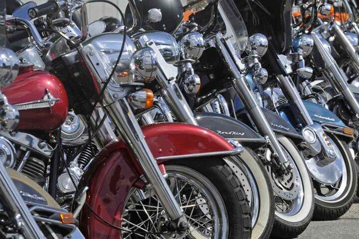Die Rocker der Freeway Riders sind ein Motorradclub. (Symbolbild).