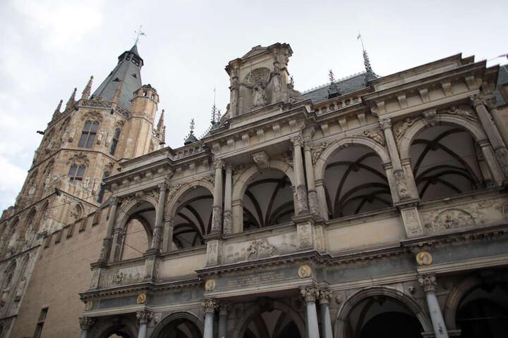 Das Rathaus der Stadt Köln.
