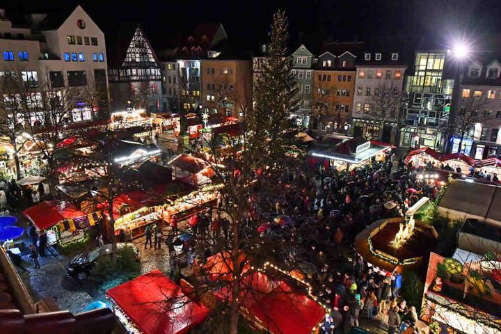 Tausende Besucher strömten nach Jena.