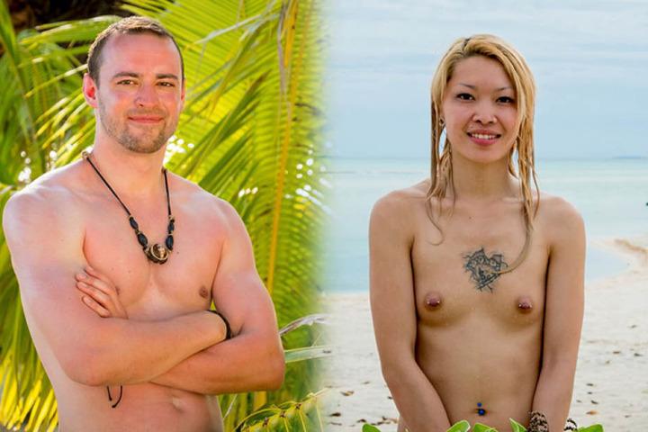 Max(29, Desinfektor aus Essen) und Kim (25, Nageldesignerin aus Leipzig)