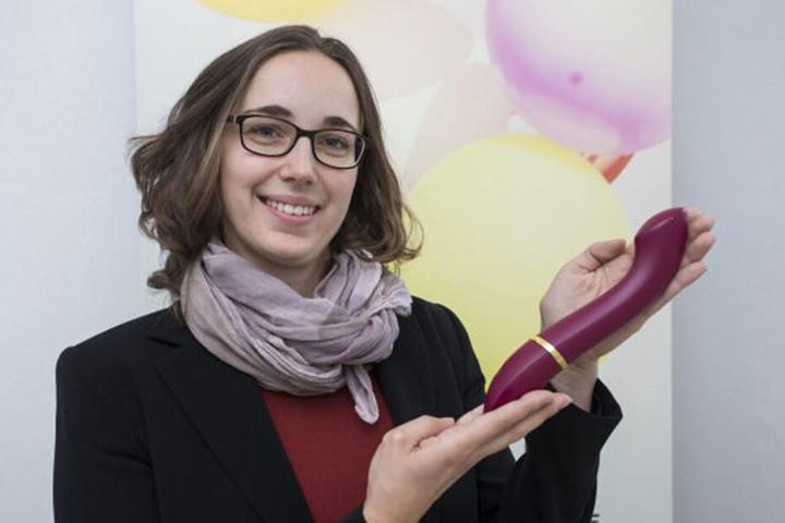 Sie hat Baustofftechnik studiert und einen lautlosen Dildo erfunden: Julia Lüpfert.