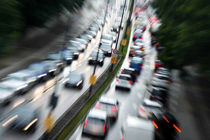Auf Münchens Straßen dürfen noch Diesel-Fahrzeuge fahren.