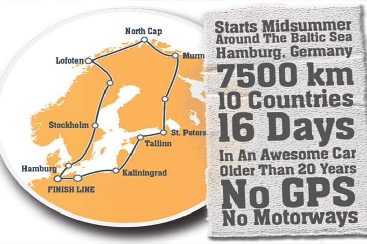7500 Kilometer in 16 Tagen wollen die Chemnitzer auf ihrer Spendentour zurücklegen.