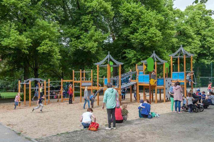 Auf Spiel- und Bolzplätzen gilt bereits seit fünf Jahren in Chemnitz ein Rauchverbot.