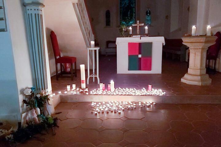 Am Freitag hatte es eine Andacht zum Gedenken an die verunglückten Kinder gegeben.