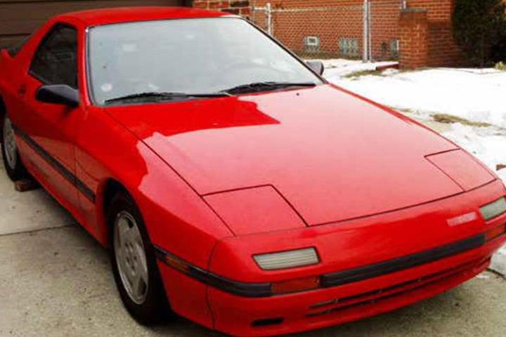 Auch ein Mazda aus den 1980er Jahren ist verschwunden (Vergleichsfoto).