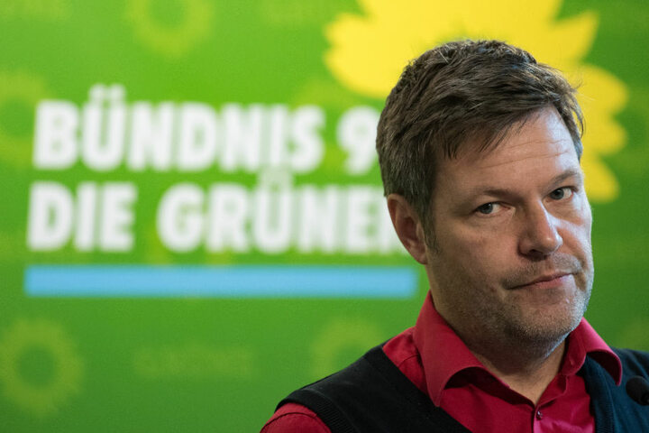 Robert Habeck ist neuer Chef der Grünen und noch Energiewendeminister in Schleswig-Holstein.
