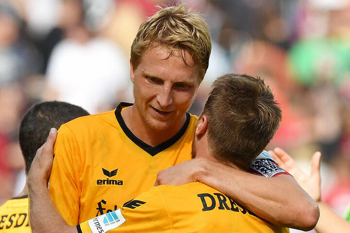 Mit Kapitän Marco Hartmann werden die Dynamo-Bosse im Trainingscamp verhandeln, ob auch Andreas Lambertz über den Sommer hinaus bleibt, ist völlig offen.