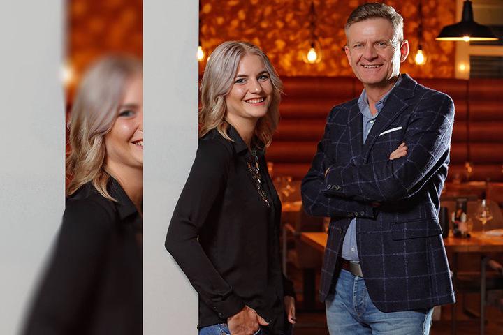 Promi-Wirt Steffen Zuber (53) und seine Tochter Alisa (25) freuen sich auf ihr drittes Steakhaus.