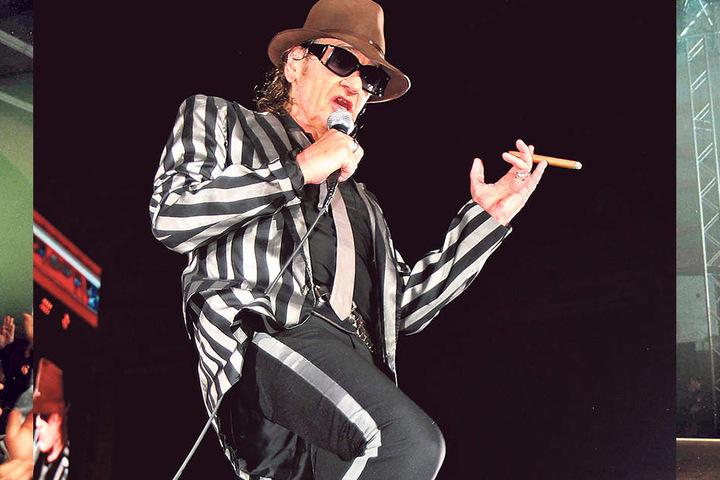 Am Dienstag tanzt und singt Udo Lindenberg (70) wieder in Chemnitz.