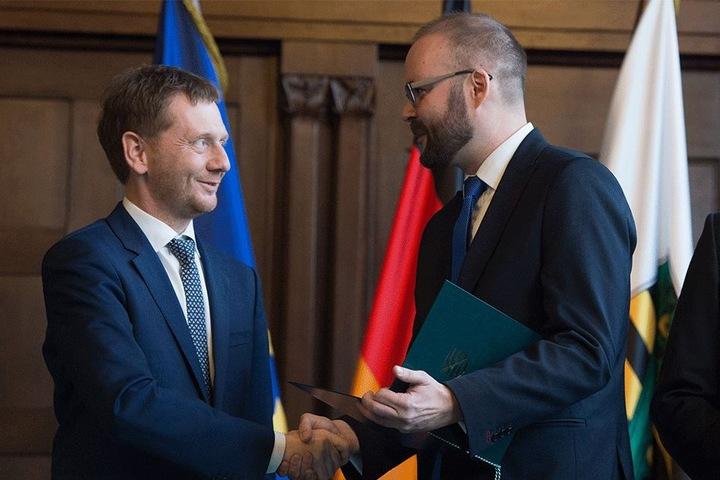Kretschmer steht zu seiner Entscheidung, Christian Piwarz (42, CDU) zum Kultusminister zu ernennen - statt Frank Haubitz.