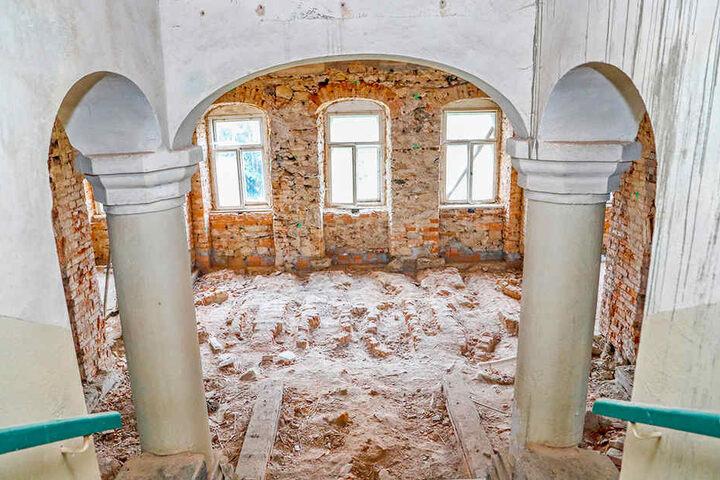 Hoher Sanierungsbedarf im Inneren: Die Gemeinde will den künftigen Eigentümer unterstützen.
