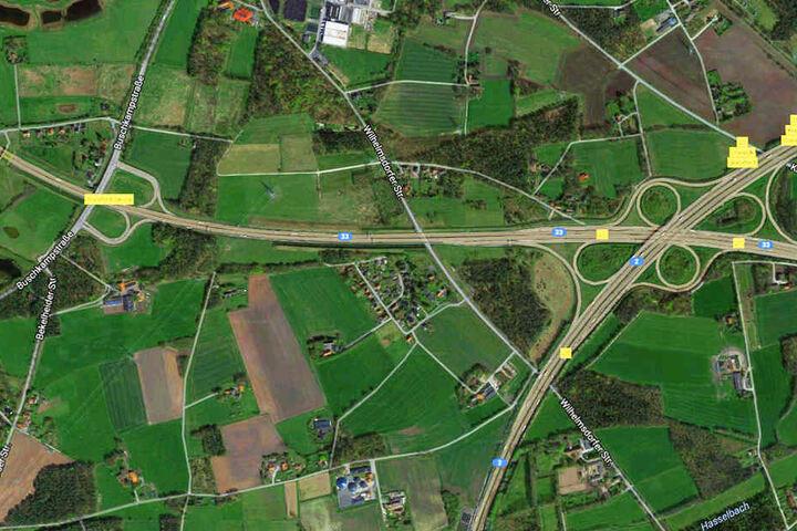Zwischen Bielefeld-Senne und Zentrum kam es zu dem Auffahrunfall.