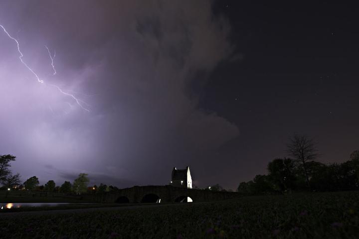 Die heftigen Unwetter tobten jetzt zwei Tage lang in den USA.