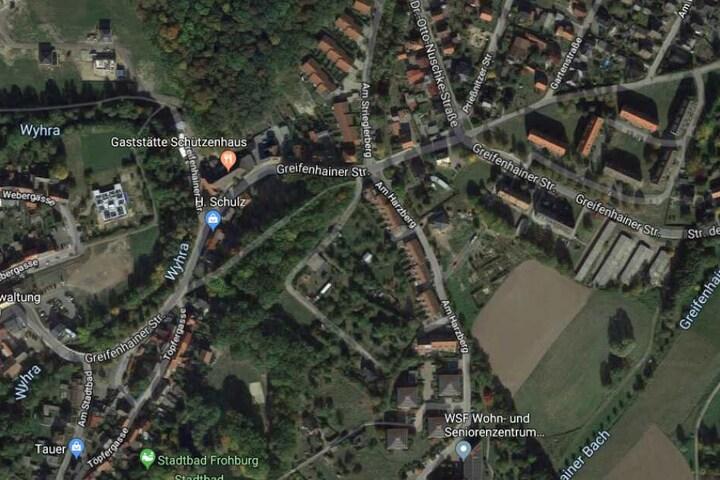 Der Vorfall ereignete sich an der Greifenhainer Straße.