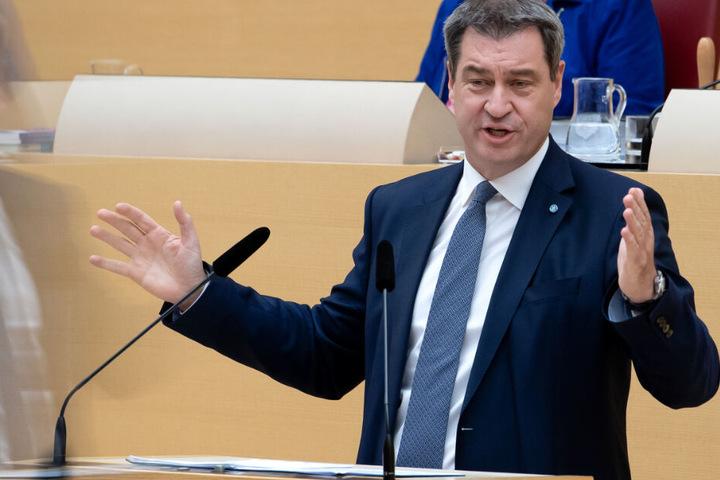 Markus Söder und die CSU wollen die in Bayern erlaubten Ladenöffnungszeiten beibehalten.