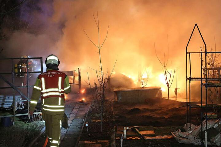 Wie es zu dem Brand kam, ist bisher nicht geklärt.