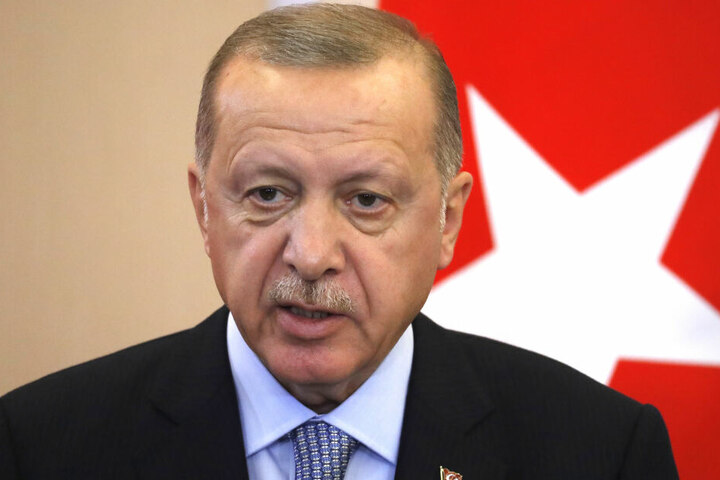 Recep Tayyip Erdogan droht weiter mit Krieg. (Archivbild)