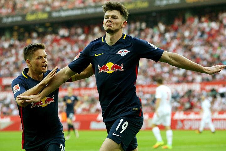 Gegen den 1. FC Köln (Endstand 1:1) erzielte Oliver Burke Ende September sein erstes und bisher letztes Pflichtspieltor für RB Leipzig.