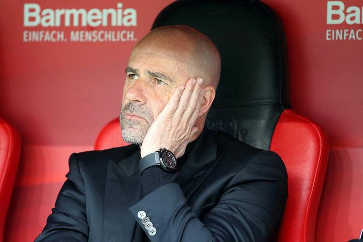 Bayer-Coach Peter Bosz kann im Auswärtsspiel bei den Roten Bullen nicht mit mitreisenden Fans rechnen.