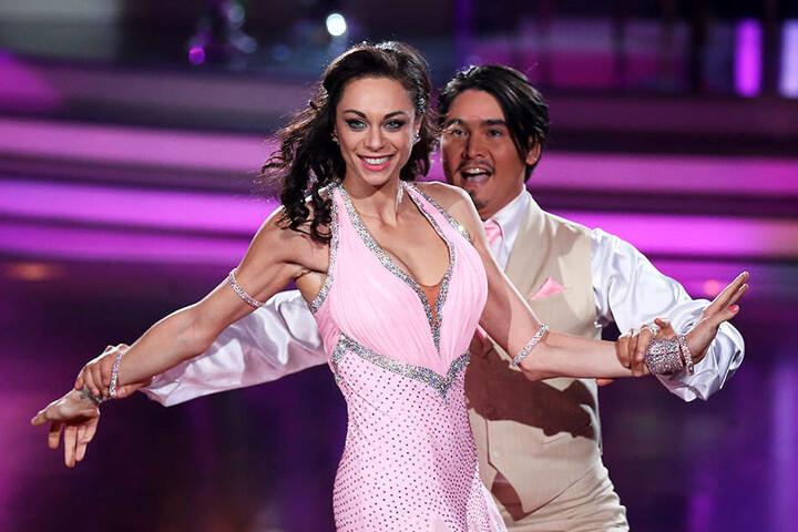 """Der Name Becker ist bei """"Let's Dance"""" nicht nur: 2014 tanzte Lilly Becker mit Erich Klann."""