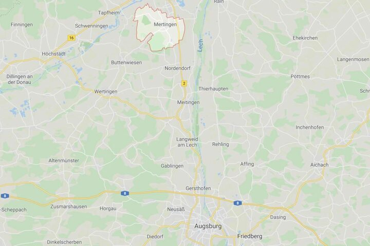 In Mertingen ist es in Bayern zu einem folgenschweren Unfall gekommen.