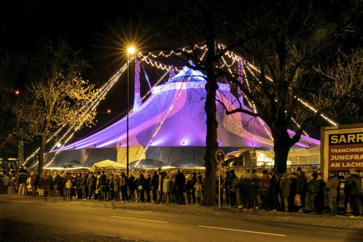 Auch in der 24. Ausgabe ist der Dresdner Weihnachts-Circus ein Publikumsmagnet.