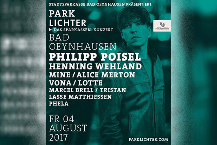 Zu den Headlinern gehören dieses Jahr Philipp Poisel und Henning Wehland, bekannt von den H-BLOCKX und den Söhnen Mannheims.