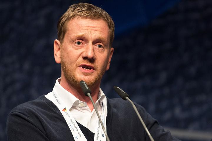 Michael Kretschmer (42) soll Nachfolger Stanislaw Tillichs werden.