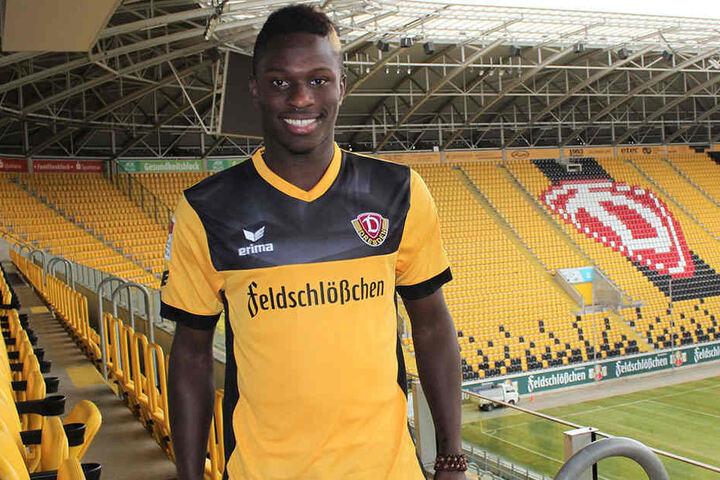 Auf Neuzugang Moussa Koné ruhen die Hoffnungen von Dynamo.