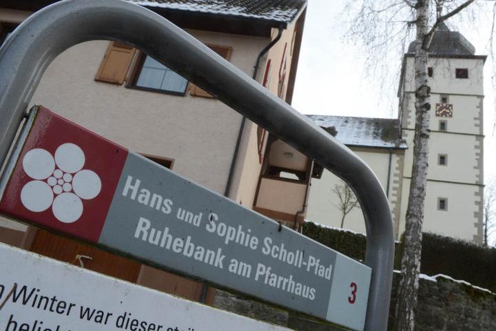 Forchtenberg im Hohenlohekreis: Hier wurde Sophie Scholl geboren, vieles erinnert an sie und ihren Bruder Hans. (Archivbild)