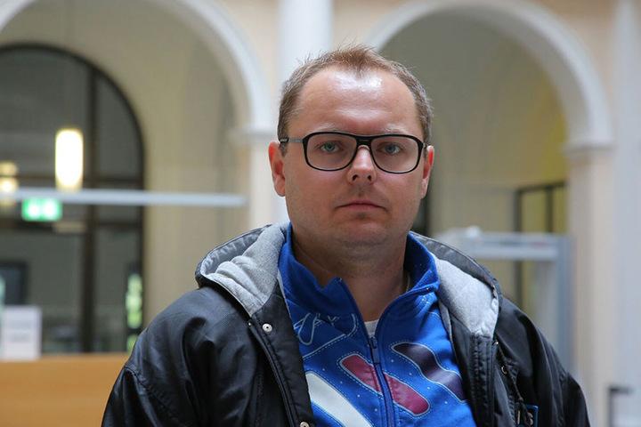 Norman Grimm (34) hielt den Gewalttäter im letzten Augenblick auf.