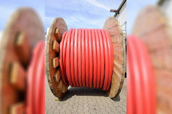 Kiloweise Kabel verschwanden zwischen 2011 und 2012 im Dreieck Torgau - Großenhain - Senftenberg.