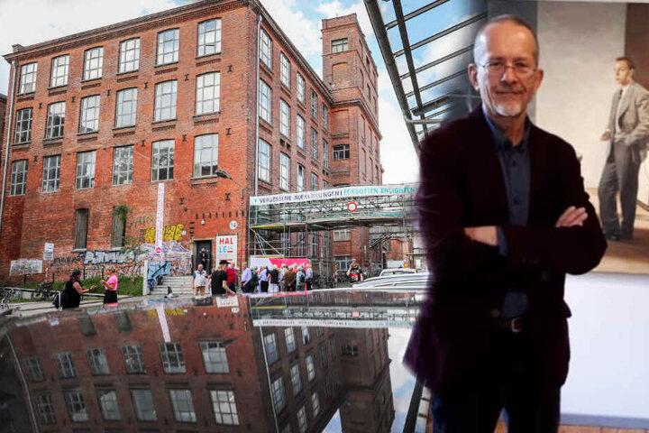 Wegen politischer Debatten um den Leipziger Künstler Axel Krause (60) wurde die Ausstellung zunächst abgesagt.